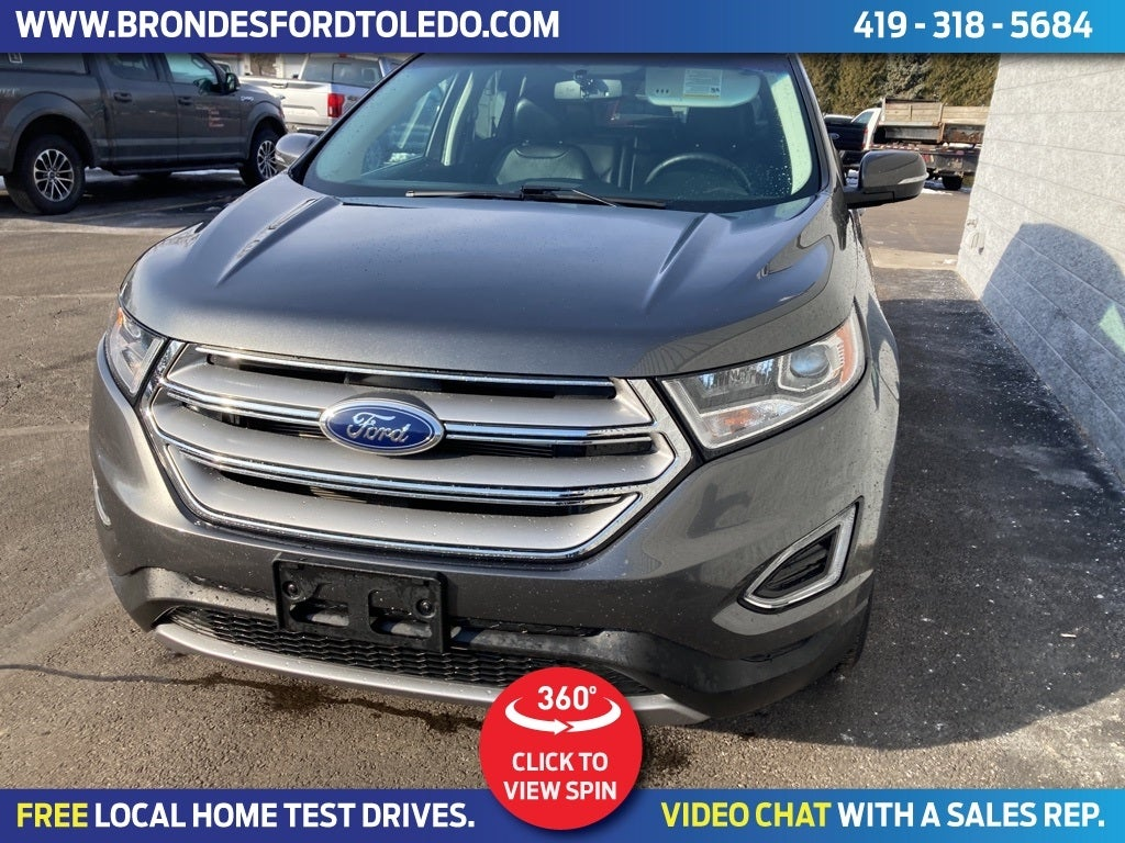 Ford Edge Sel In Toledo Oh Brondes Ford Toledo